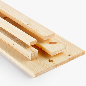 Softwood Boards in Select graes and knotty grades